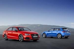 Audi RS 3 Sedan y RS 3 Sportback, potencia a raudales