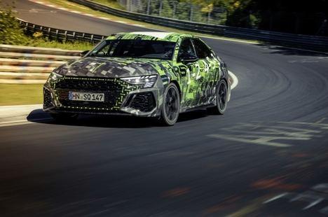 Audi RS 3, nuevo récord en Nürburgring