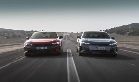 El Audi RS e-tron GT, protagonista de los cursos de conducción de Audi 2021