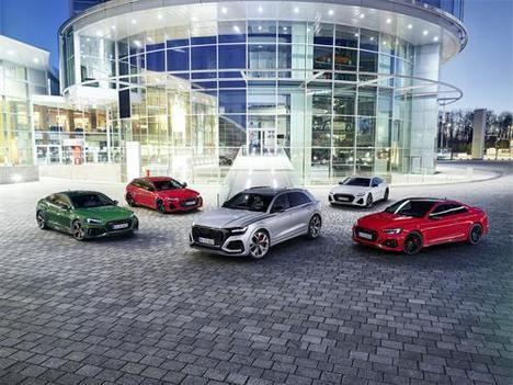 La dinámica gama RS de Audi