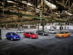 Audi Sport celebra 25 años de las versiones RS