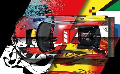 Audi Sport celebra el centenario de Spa con decoraciones especiales para sus coches GT3