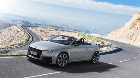 Nuevos Audi TT RS Coupé y Roadster