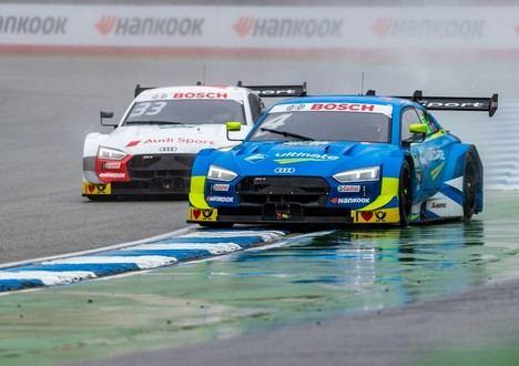 Una victoria y cinco podios para Audi en la primera cita del DTM