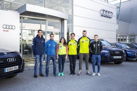 Audi con la Real Federación Española de Deportes de Invierno