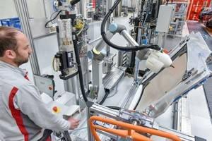 Cooperación en Audi entre humanos y robots