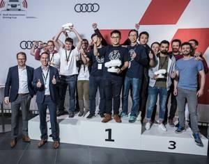 El equipo AFILSOP de la Universidad de Ilmenau gana la Copa Audi de Conducción Autónoma 2017