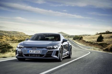 Comienza en España la comercialización del Audi e-tron GT