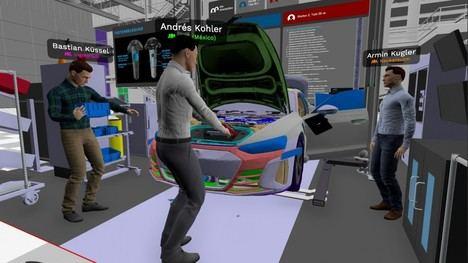 La planificación digital en la producción del Audi e-tron GT