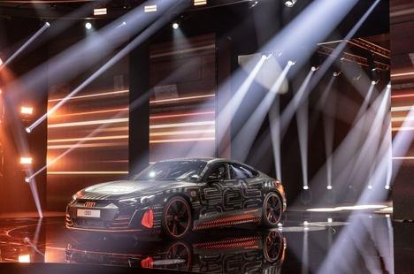 Presentación mundial digital del Audi e-tron GT