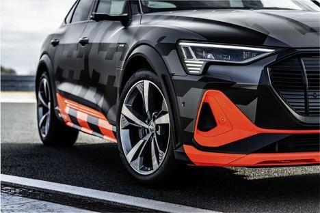 Innovador concepto aerodinámico para las versiones S de los modelos Audi e-tron