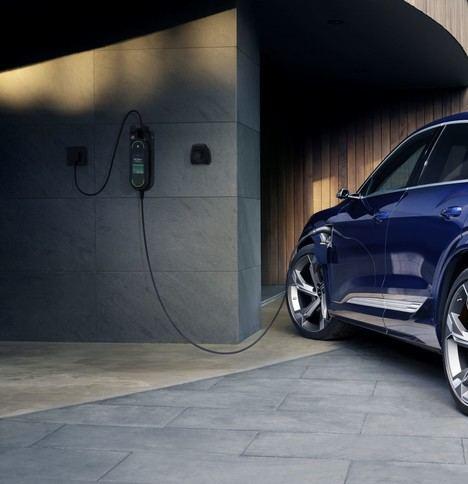 El Audi e-tron ya está preparado para una carga inteligente y optimizada
