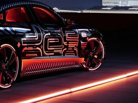 El Audi e-tron GT: la producción y el desarrollo del e-sound