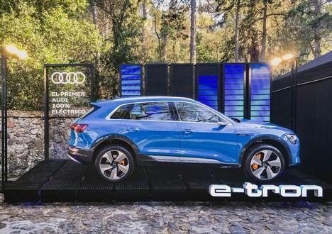 El Audi e-tron, junto con la mejor música en el Festival de Cap Roig