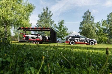 El Audi e-tron prototype en el Wörthersee
