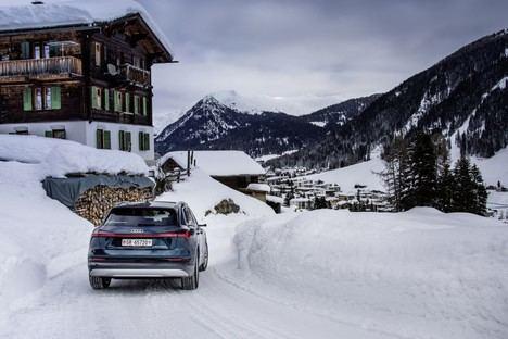 Audi electrifica el Foro Económico Mundial en Davos