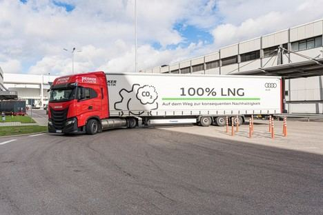 La factoría de Audi en Neckarsulm continúa impulsando la logística sostenible