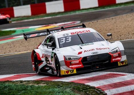 Victoria para Audi en el DTM
