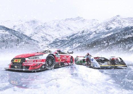 Audi en el Ice Race GP que se celebra en Austria