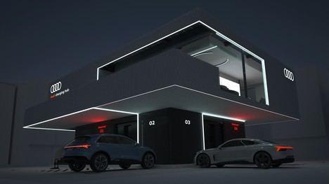 Audi ensaya un proyecto piloto de recarga rápida