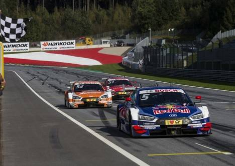 Fin de semana perfecto para Audi en el DTM