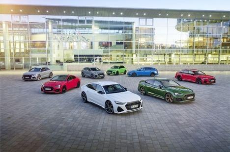 La gama RS de Audi, líder de ventas de los vehículos de altas prestaciones