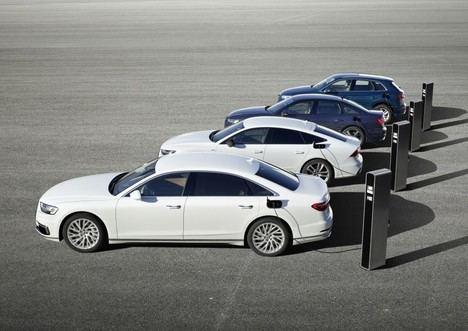 Los híbridos enchufables de Audi