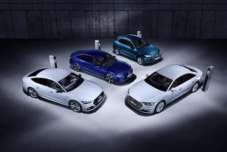 Audi Q5, A6, A7 y A8, nuevas versiones híbridas enchufables