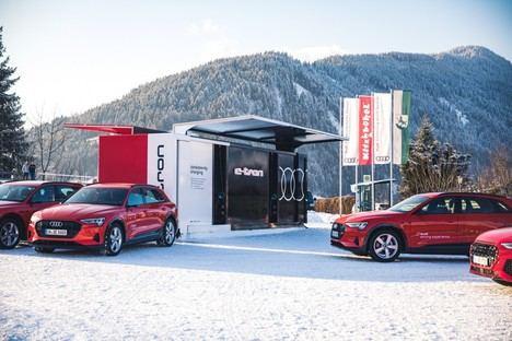 Audi proporciona soluciones de recarga y movilidad sostenible