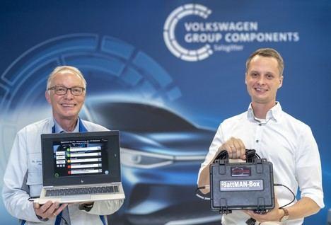 BattMAN ReLife: el nuevo software de Audi para la comprobación del estado de las baterías
