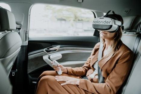 Holoride, entretenimiento a bordo con realidad virtual para futuros Audi