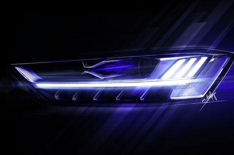 Audi reinventa la iluminación en el automóvil