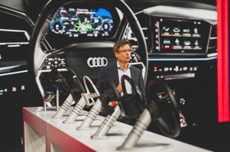 Jornadas técnicas Audi, sistemas de dirección