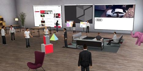 """Transformación digital: """"Audi spaces"""""""