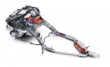 Post-tratamiento de los gases de escape en los motores gasolina y diésel de Audi