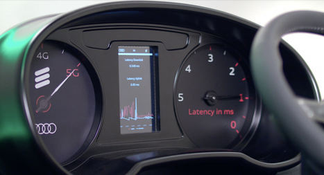 Audi y Ericsson juntos con la tecnología 5G