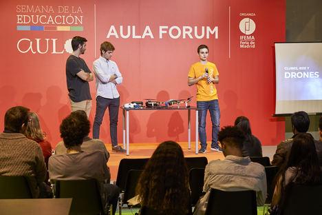 AULA crea la mayor comunidad educativa y extiende sus actividades a lo largo del año