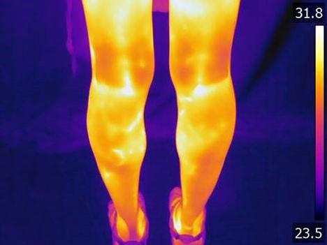 IBV investiga para detectar anomalías según la respuesta térmica de las personas