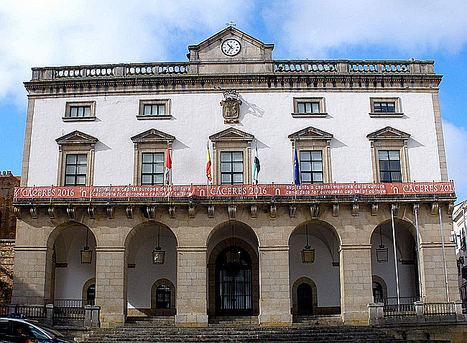 Ayuntamiento de Cáceres.