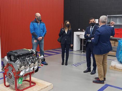 BBK y BeGas avanzan en su compromiso de industrialización en Bizkaia produciendo motores ecológicos