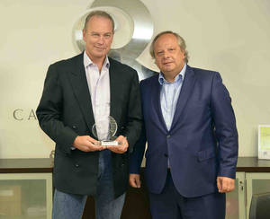 Bertín Osborne, Premio Miguel Mirones.