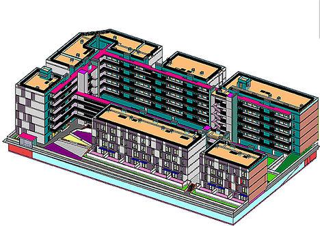 Arranca la primera promoción de viviendas industrializadas de seis alturas en Móstoles