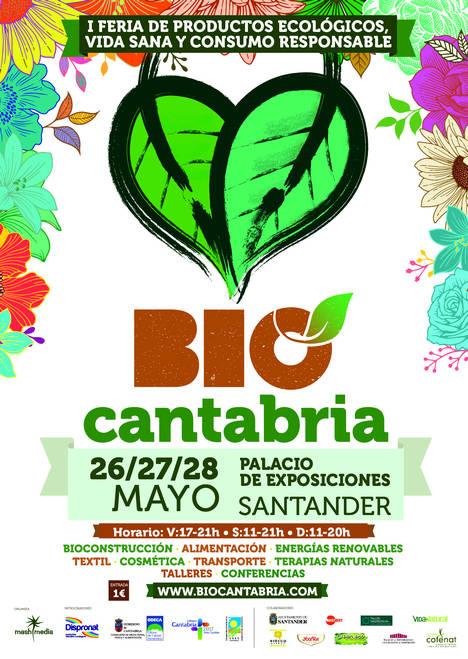 Santander acogerá del 26 al 28 de mayo la 1ª edición de la feria ecológica BioCantabria