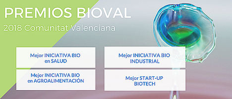 Se amplía el plazo de presentación de candidaturas a los Premios BIOVAL