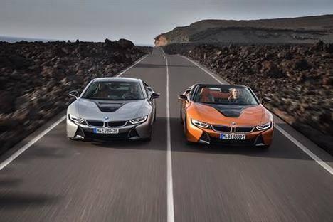 Nuevo BMW i8 Coupé y Roadster