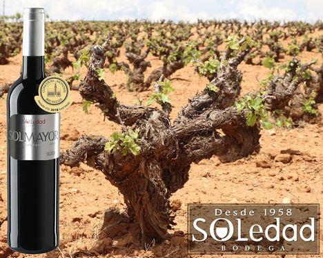 Solmayor de Bodega Soledad, una de las marcas de vino más premiadas de Cuenca y su tinto 2017 el vino joven más premiado de España