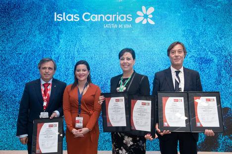 Turismo de Canarias destaca a GF Hoteles en Fitur como un referente en gestión sostenible, certificada por Bureau Veritas