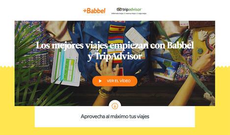 Aprovecha al máximo tu próximo viaje con Babbel y TripAdvisor