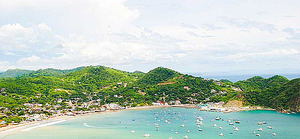 Bahía de San Juan del Sur, Nicaragua.