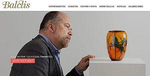 La sala de subastas Balclis y el portal de subastas online Auctionet firman un acuerdo de colaboración